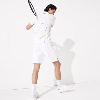 Lacoste Men's SPORT Mesh-Panel Tennis Shorts