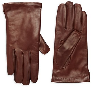 Portolano Wool-Lined Leather Gloves