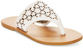 Kenneth Cole Reaction Little Girls' or Toddler Girls' Swish Thong Sandals