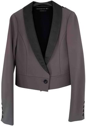 Mackage Grey Silk Jacket for Women