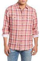 Grayers Barnard Slim Fit Plaid Sport Shirt