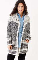 J. Jill Willow Fair Isle Cardi