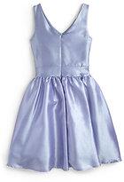 Un Deux Trois Girl's Jackie O Taffeta Dress