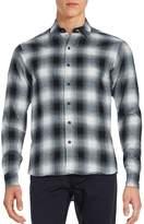 Raleigh Denim Men's Plaid Cotton Shirt