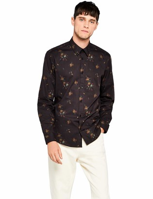 Find. Amazon Brand Men's Floral Print Shirt