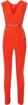 Eres Véronique Leroy Georges Silk-crepe Jumpsuit - Papaya