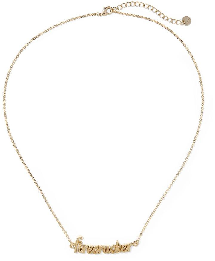 Pim + Larkin Firecracker Pendant Necklace
