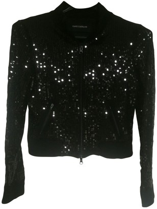 Flavio Castellani Black Silk Jacket for Women
