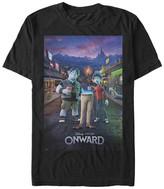 Fifth Sun Tee Shirts BLACK - Onward Black Dad Poster Tee - Adult