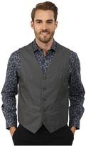 Perry Ellis Micro Twill Heather Five-Button Vest