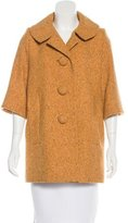 Smythe Short Sleeve Wool Coat w/ Tags
