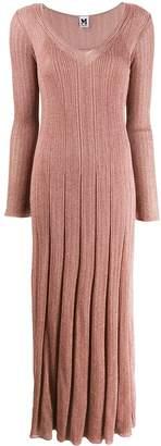 M Missoni knitted glitter embellished dress