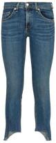 Thumbnail for your product : Rag & Bone Capri Distressed Hem Skinny Jeans