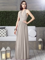 Dessy Collection 2908 Dress in Taupe