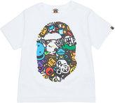 A Bathing Ape Safari cotton T-shirt 4-8 years