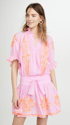 Juliet Dunn Blouson Dress