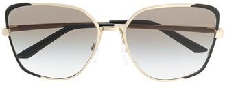 Prada Oversize-Frame Sunglasses