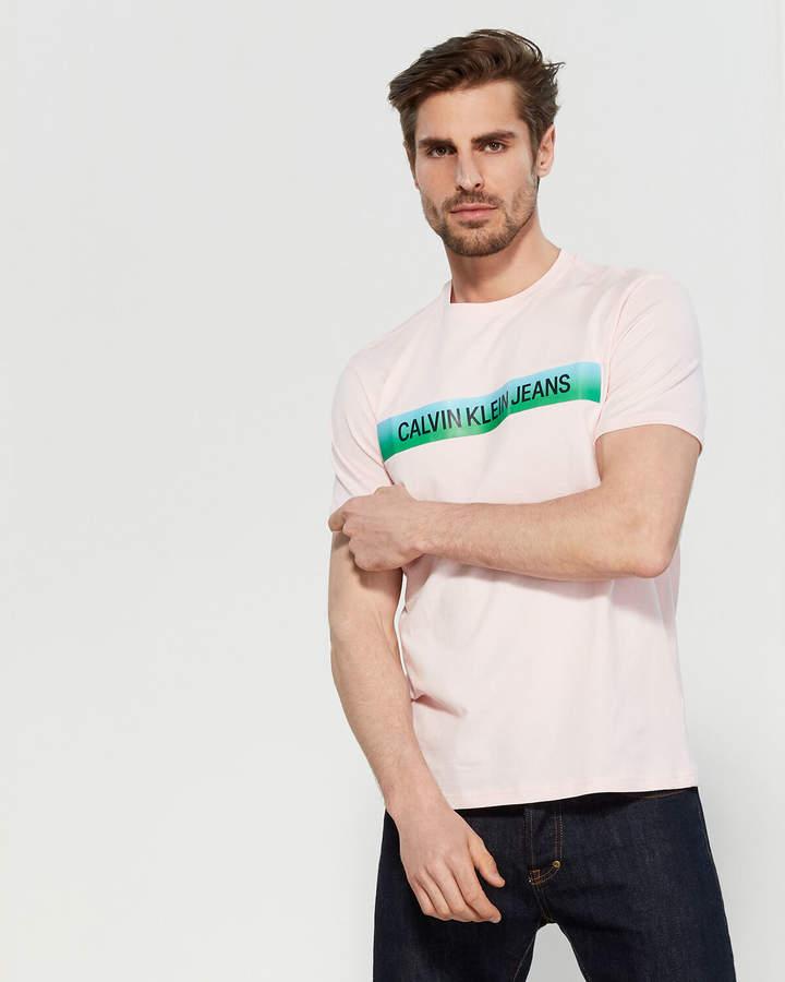 2a0602a40fea Ombre T Shirt Men - ShopStyle