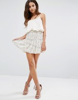 BA&SH Smocked Mini Skirt