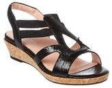 Taryn Rose Tene Leather Sandal.