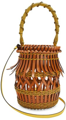 Loewe Calfskin Fringes Bucket Bag