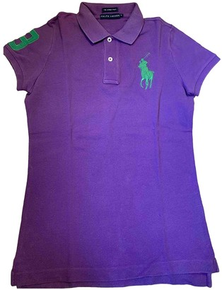 Polo Ralph Lauren Purple Cotton Knitwear for Women
