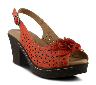 Spring Step Patrizia by Adjustable Slingback Sandals - Doriday