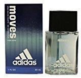 adidas Moves By For Men. Eau De Toilette Spray 1.0 Oz / 30 Ml