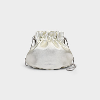 Marc Jacobs The Soiree Bag In Platinum Leather