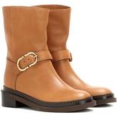Salvatore Ferragamo Elia leather boots