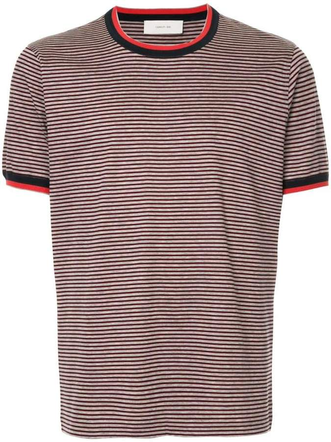 Cerruti contrast stripe T-shirt