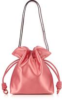 Loewe Flamenco Knot small satin shoulder bag