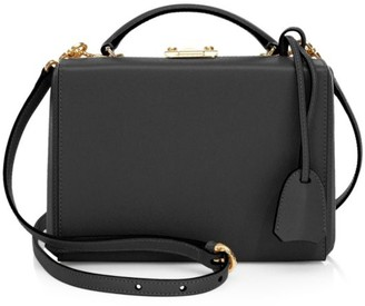 Mark Cross Small Grace Box Leather Crossbody Bag