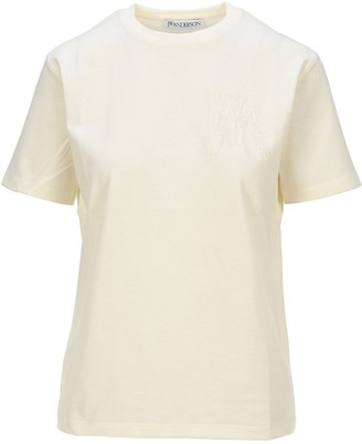 J.W.Anderson Logo Embroidered T-Shirt