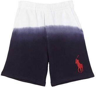 Polo Ralph Lauren Kids Terry Shorts (Little Kids) (White) Boy's Shorts