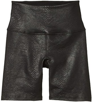 Beyond Yoga Viper High Waisted Biker Shorts (Mocha Viper) Women's Shorts