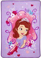 Disney Disney's Sofia the First Sweet as a Princess Coral Fleece Blanket
