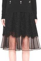 French Connection Spotlight Lace Skirt