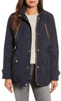 MICHAEL Michael Kors Women's Faux Leather Trim Anorak
