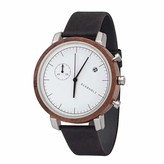 KERBHOLZ Wooden Watch Masterpieces Collection Franz Analog Mens Quartz Watch