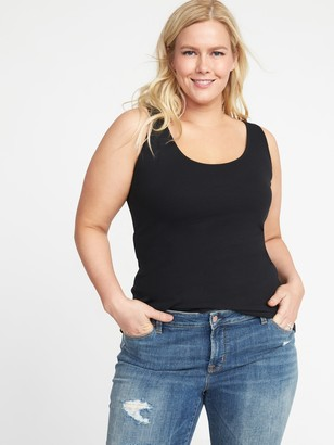 Old Navy First-Layer Fitted Plus-Size Rib-Knit Tank