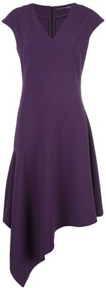Josie Natori Crepe Swing Dress