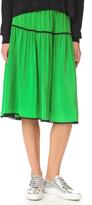 Kenzo Silk Midi Skirt