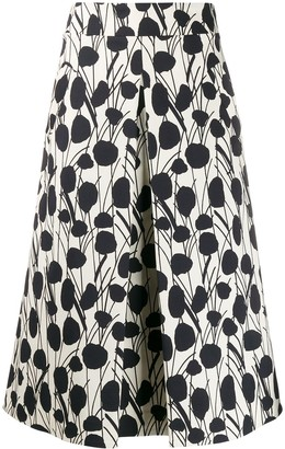 La DoubleJ x Mantero Santa Monica Moses print skirt