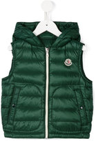 Moncler zip up padded sleeveless jacket