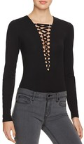 Bardot Tavia Lace Up Bodysuit - 100% Bloomingdale's Exclusive