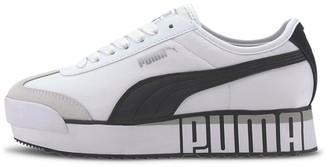 Puma Roma Amor Logo sneakers in white