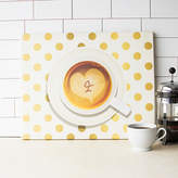 Cathy's Concepts Cathys concepts Monogram Coffee Canvas Wall Decor