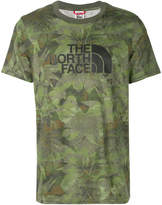 The north face mens shirts shopstyle the north face camouflage print t shirt sciox Images