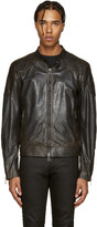 Belstaff Black Leather Outlaw Jacket